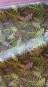 Fabric in Real Life Fern Tangle on Olive